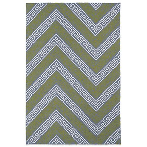 Kaleen Matira Key 5-Foot x 7-Foot 6-Inch Indoor/Outdoor Rug in Grey
