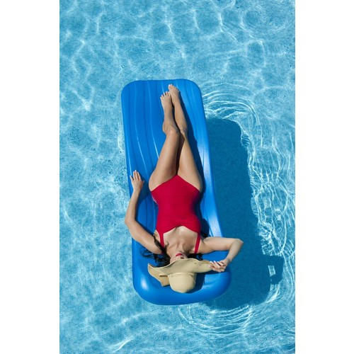 Aqua Cell Deluxe Cool Pool Float - 1.75 in Thick - Blue