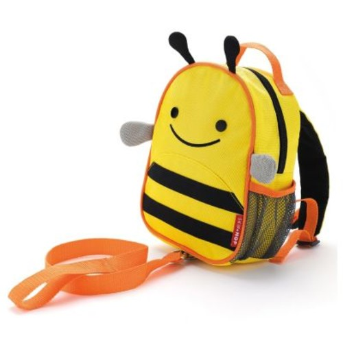 SKIP*HOP Zoo Bee Safety Harness with Mini Backpack with Rein
