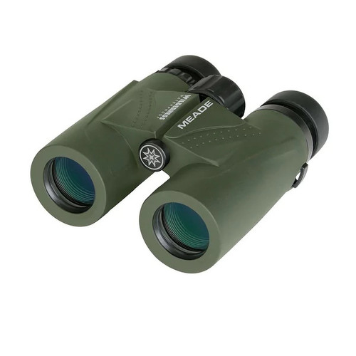 Meade 125023 Wilderness Binoculars - 10x32 Green - 125023