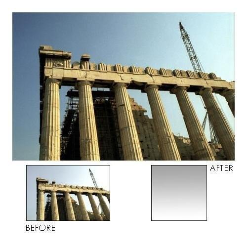 Lee Filters Neutral Density 0.9 Graduated Blender Filter, 100x150mm - Resin