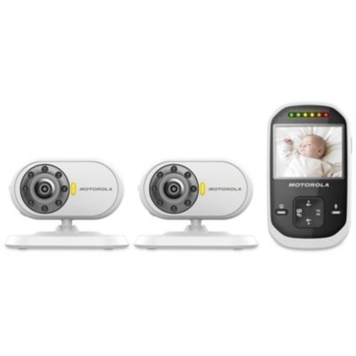 Motorola MBP25-2 Digital Video Baby Monitor with 2 Cameras