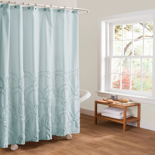 Lush Decor Esme Shower Curtain