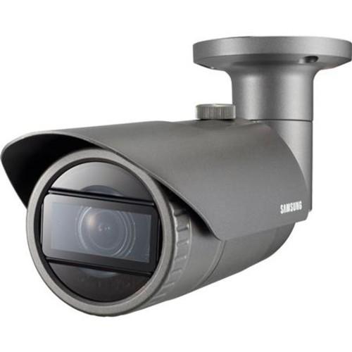 Samsung QNO-7080R Day/Night 4MP Outdoor Network IR Bullet Camera, 2.8-12mm Lens