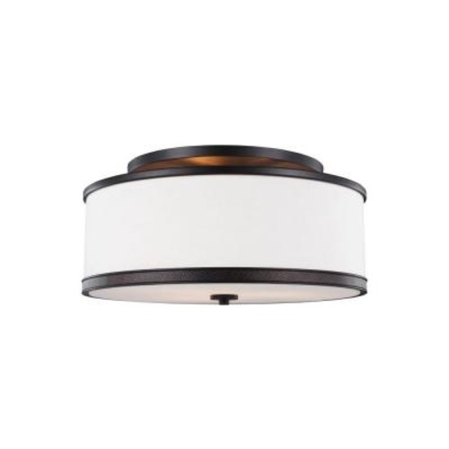Feiss Marteau 3-Light Oil Rubbed Bronze Ceiling Fixture