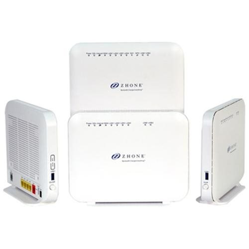 Zhone 6712-W1 VDSL2/ADSL2+ 4-Port Gateway - 6 Ports - SlotsGigabit Ethernet - ADSL2+ - Desktop - 6712-W1-NA