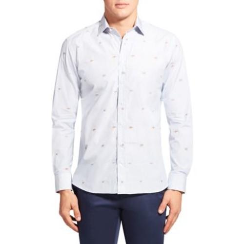 ETRO Sea Creature Button-Down Shirt