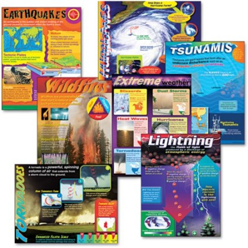 Trend Enterprises Weather Extremes Learning Chart Combo Pack (T-38963)