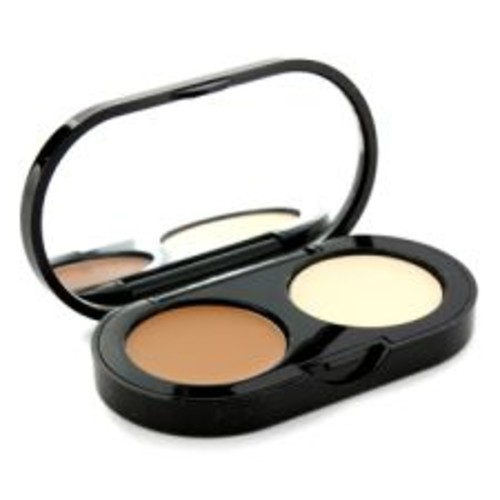 Bobbi Brown New Creamy Concealer Kit - Golden Creamy Concealer + Pale Yellow Sheer Finish Pressed Powder