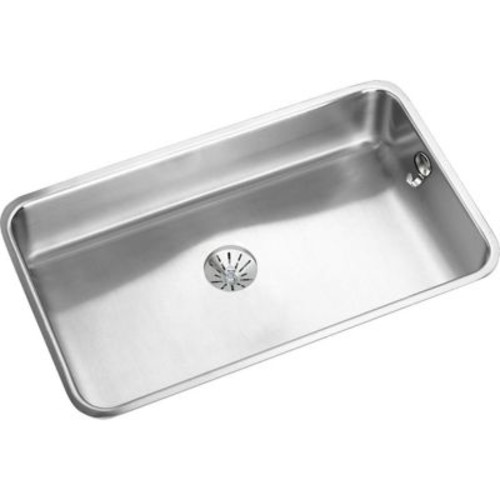 Elkay Gourmet 30.5'' x 18.5'' Stainless Steel Single Bowl Undermount Kitchen Sink