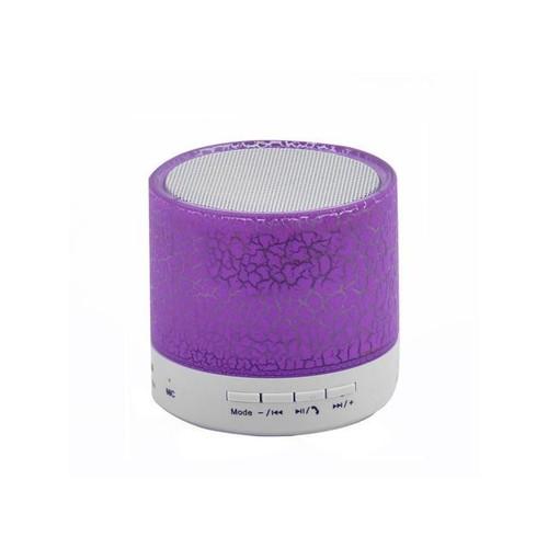 Global Bargains Phone Portable Mini Wireless bluetooth Hand-free Call Stereo Speaker Purple