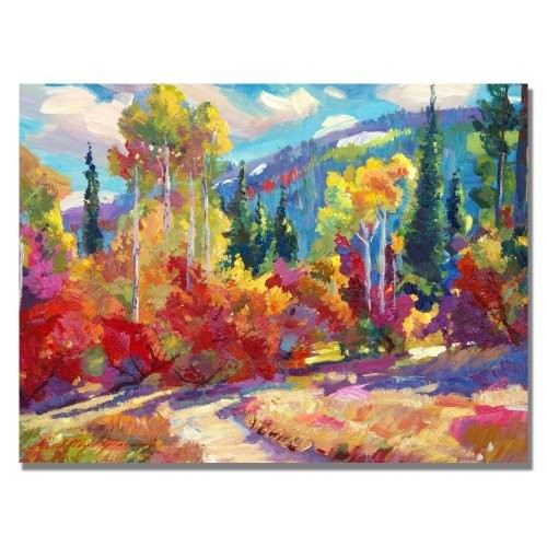 The Colors of New Hampshire by David Lloyd Glover, 18x24-Inch Canvas Wall Art [18 by 24-Inch]