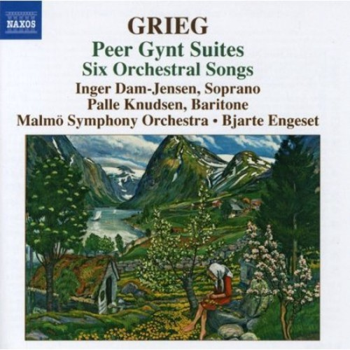 Grieg: Peer Gynt Suites; Six Orchestral Songs