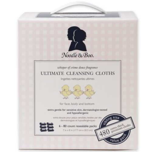 Noodle & Boo 480-Count Ultimate Cleansing Cloths