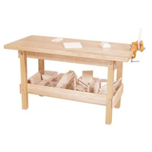 Wood Designs - Workbench With Trays And Wood (WDD107)
