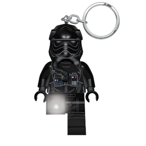 Star Wars Lego Tie Fighter Pilot Key Chain with Light