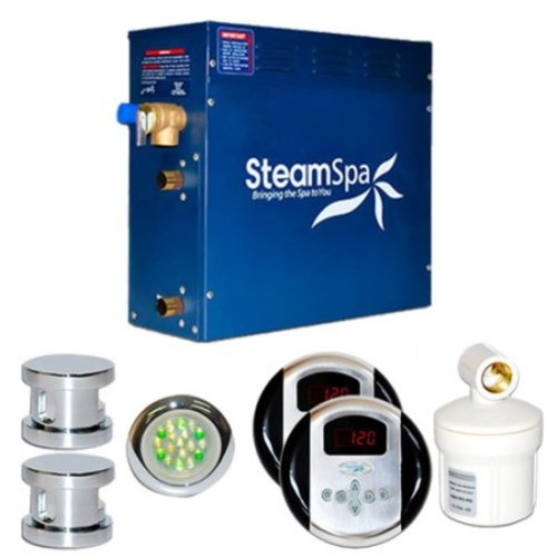 Steam Spa SteamSpa Royal 12 KW QuickStart Steam Bath Generator Package