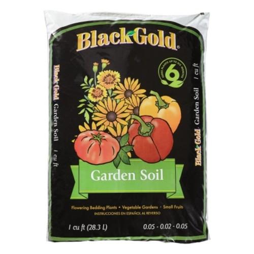 Black Gold Garden Soil Fertilizer Enriched 1 Cubic Foot(1411603.CFL001P)