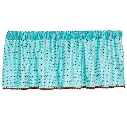 Country Home Laugh, Giggle & Smile Wish I May Window Valance