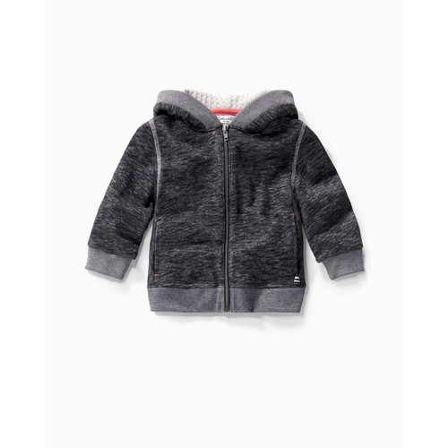Baby Boy Brushed French Terry Hoodie