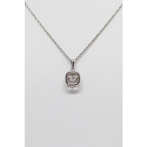 Dancing Diamond Necklace