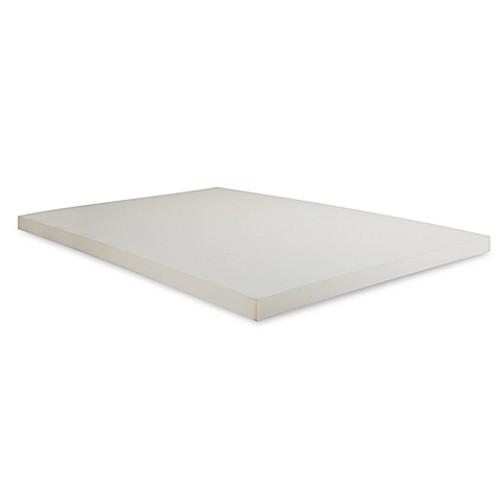Independent Sleep Twin-Size 2-Inch Memory Foam Mattress Topper
