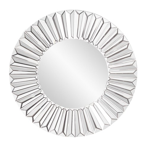 Elizabeth Austin Torino Sunburst Wall Mirror - 13 diam. in.
