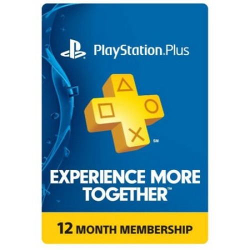 Sony PlayStation Plus 12 Month