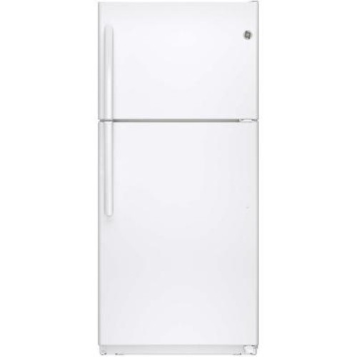 GE 18.2 cu. ft. Top Freezer Refrigerator in White