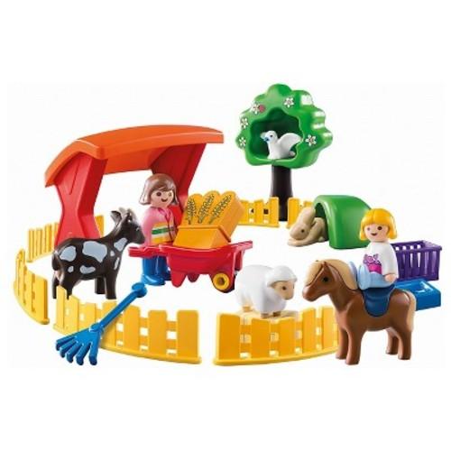 Playmobil 1.2.3 Petting Zoo