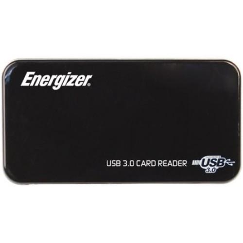 Energizer - USB 3.0 Memory Card Reader/Writer - Black