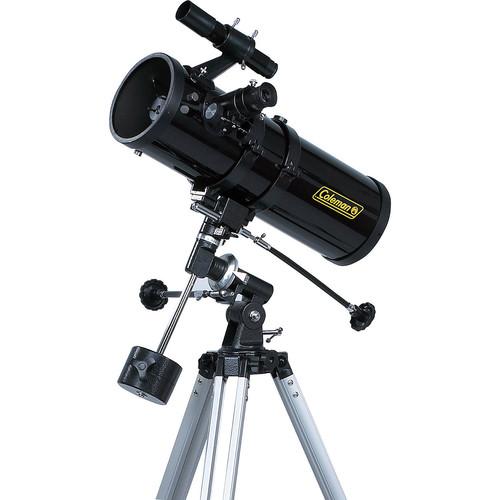 Coleman AstroWatch D114mm x 500mm Reflector Telescope [Black]