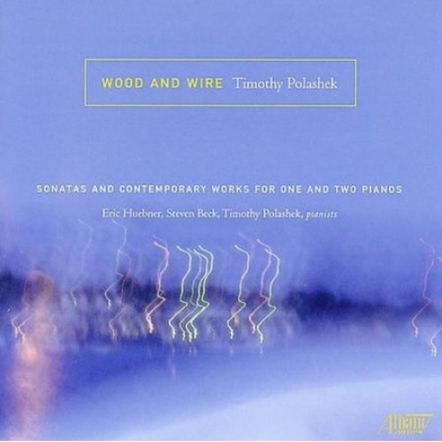 Wood & Wire: Sonatas & Contemporary Works for One & Two Pianos by Timothy Polashek [CD]
