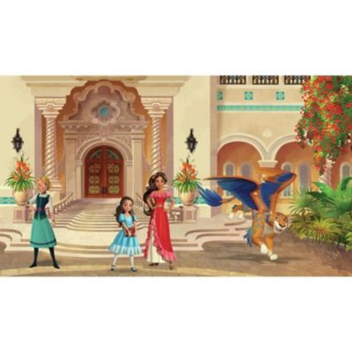 RoomMates Disney Princess Elena of Avalor Chair Rail Pre-Pasted Mural