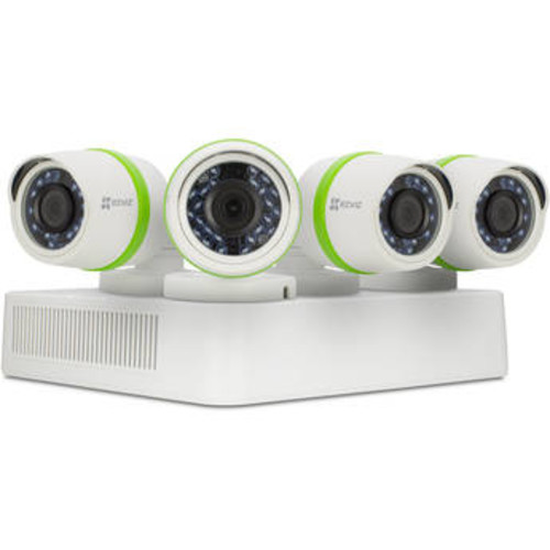Everyday 3MP 4-Channel 3MP DVR with 1TB HDD and 4 3MP Outdoor Bullet Cameras Kit