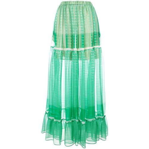 STELLA MCCARTNEY Tiered Maxi Skirt