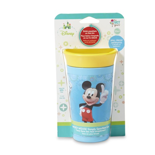 Disney Mickey Mouse Infants' Simply Spoutless Cup