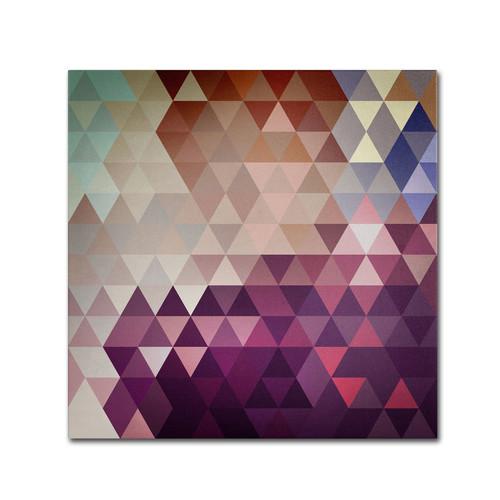 Trademark Global Christian Jackson 'Trivector' Canvas Art [Overall Dimensions : 24x24]