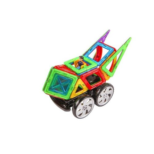Magformer Racing Multicolor Plastic 39-piece Set