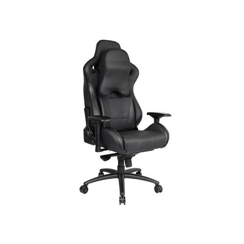 Anda Seat Dark Series Premium Gaming Chair, Large Size Big and Tall, High-Back Desk and Recliner Swivel Office Chair 400LB With Lumbar Support and Headrest (Black) AD12XL-DARK-B-PV-PRO