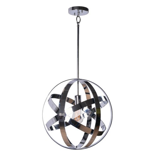 Kenroy Home Global 1-Light Chrome Pendant