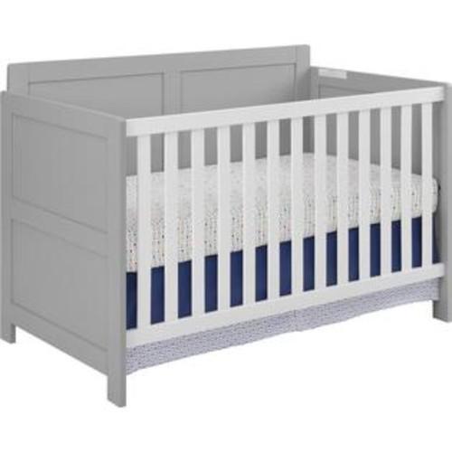 Cosco Willow Lake Crib - Soft Gray/White