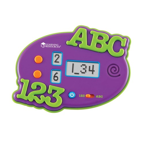 ABC/123 Electronic Flash Card by Learning Resources