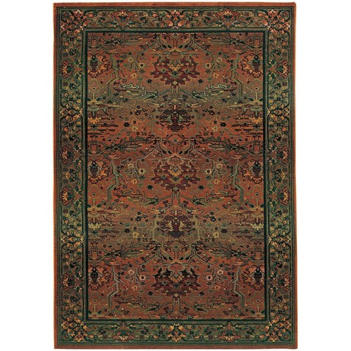 Home Decorators Collection Peace Clay 2 ft. 3 in. x 4 ft. 5 in. Area Rug