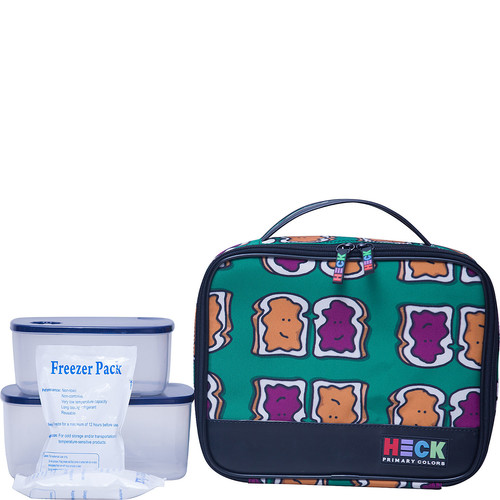 Ed Heck Luggage Flat Lunch Tote