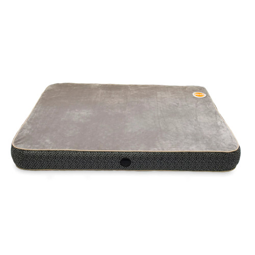 K&H Pet Products Orthopedic Superior Pet Bed [Gray Paw Bone Print, Small (20