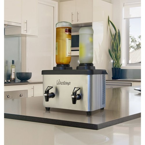 Vinotemp Beverage Dispensers & Drink Coolers Vinotemp Double Bottle Shot Chiller
