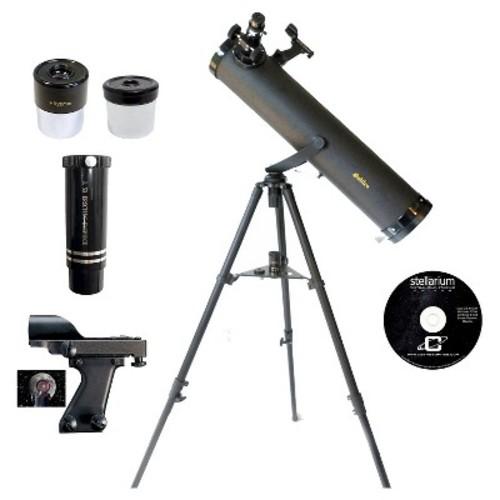 Galileo 800x95 Reflecting Telescope - Black