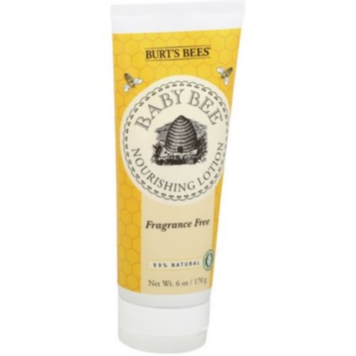 Burt's Bees Baby Bee Nourishing Lotion, Fragrance Free 6 oz (Pack of 6)