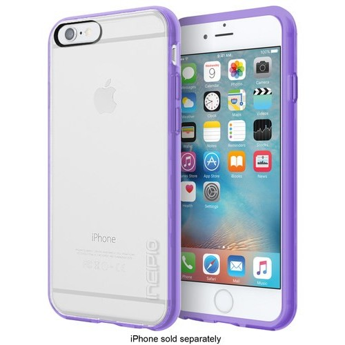 Incipio - Octane Pure Case for Apple iPhone 6 and iPhone 6s - Clear/Lavender
